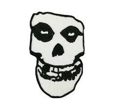 2 Inch Tall Misfits Skull Vinyl Decal Sticker Die Cut 060