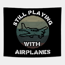 vine runway airplanes pilot tshirt