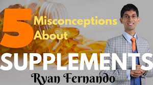 5 Misconceptions about supplements- Celebrity sports nutritionist Ryan  Fernando - YouTube