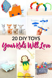 20 adorable diy toys your kids will