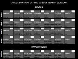 xbox p90x calendar printable
