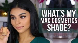 my mac cosmetics studio fix fluid shade