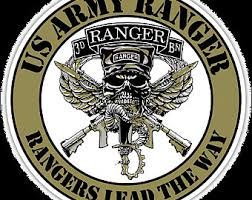 Army Ranger Decal Etsy