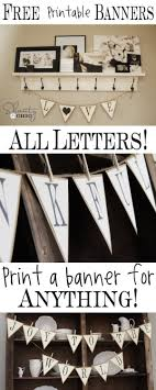 Free Printable Whole Alphabet Banner Shanty 2 Chic