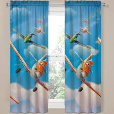 Robot Check Drapes Curtains Panel Curtains Kids Curtains