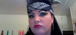 how to create chola 80 s style makeup