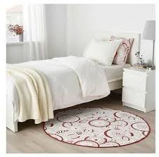 vinter 2019 rug flatwoven white red