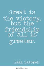 emil zatopek picture quotes great is the victory but the