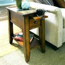 round end tables drawers storage narrow