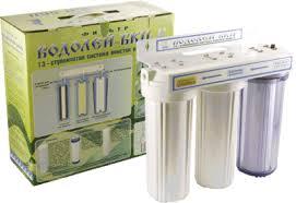 Фильтр воды под мойку «Водолей-БКП» от компании Арго на Дону ...