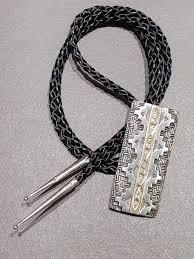 Ivan Howard Navajo 14kt Gold & Sterling Silver Bolo