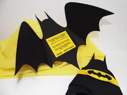 Convite Batman Fiestas Tematicas Batman Invitaciones De Batman
