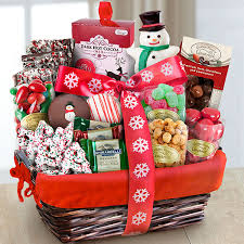 santa sweets holiday gourmet basket