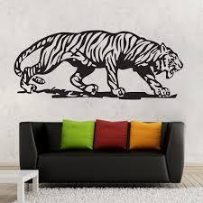 Home Garden Decals Stickers Vinyl Art One Large Tiger Wall Decor Removable Vinyl Decal Kids Boy Sticker Art Diy Mural Magnumcap Com