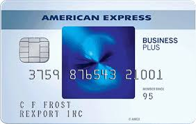 blue business plus credit card from