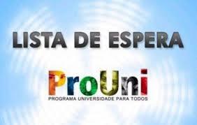 Resultado de imagem para EDUCAÇÃO SUPERIOR/BRASIL: LISTA DE ESPERA DO PROUNI FOI DIVULGADA