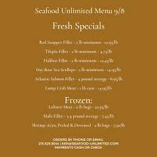 Seafood Unlimited - Home