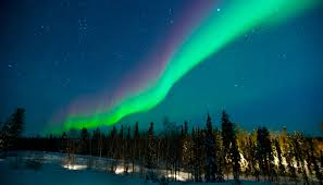 northern lights in north america