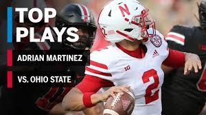 Top Plays: Adrian Martinez Highlights vs. Ohio State Buckeyes ...