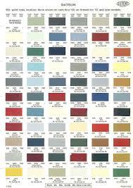 color chart auto paint google search