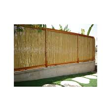 Backyard X Scapes 8 Ft W Rolled Bamboo Fence Panel Wayfair In 2020 Bamboo Fence Garden Fence Panels Fence Panels