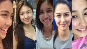 filipina celebrity no makeup saubhaya