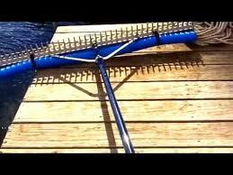 big lake rake for pond and weed control