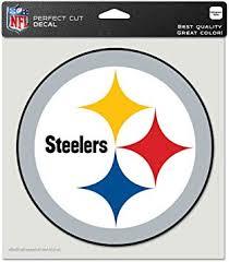 Amazon Com Pittsburgh Steelers Auto Car Bumper Decal Sticker 7 X 7 Automotive