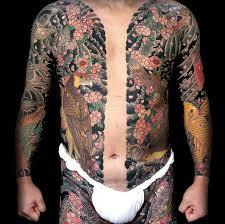 yakuza tattoos anese gang members