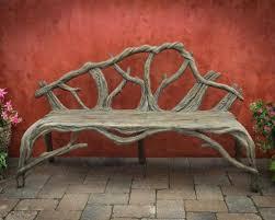 faux bois furniture custom concrete