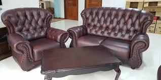 beautiful leather sofa set 2 1 with