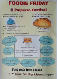 Lots on offer on Foodie Friday!! Food... - Polperro Festival | Facebook