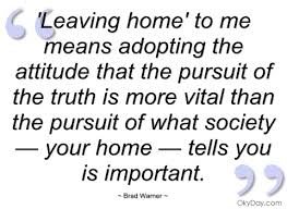 inspirational quotes about leaving home quotesgram