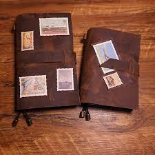 new handmade notebook genuine leather