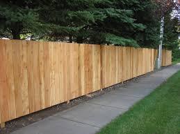 Cedar Wood Fence Photos