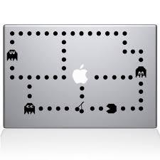 Pacman Macbook Decal Macbook Vinyl Decals The Decal Guru