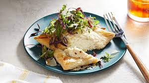 Baked Halibut on Phyllo With Parm ...