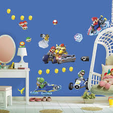 Mario Kart Wall Stickers Independencefest Org