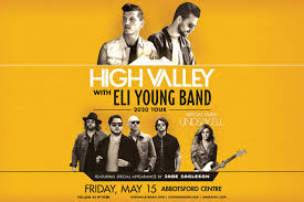 CANCELLED - High Valley with Eli Young Band 2020 Tour