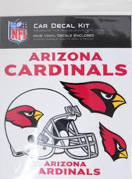 Skinit Arizona Cardinals Car Decal Kit Walmart Com Walmart Com