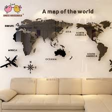 Wholesale 3d World Map Wall Stickers Buy Cheap In Bulk From China Suppliers With Coupon Dhgate Black Friday