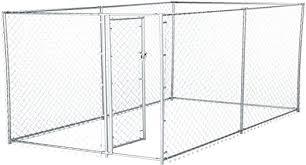 Lucky Dog Galvanized Chain Link Kennel 10 X 5 X 4 Amazon Ca Pet Supplies