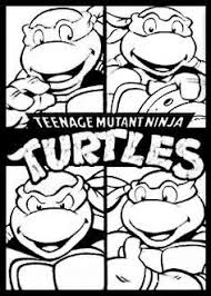 Tmnt Face Coloring Pages Google Search Kleurplaten