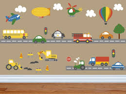 giant transportation decal construction