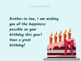 wishing you happiness brother in law