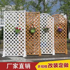 Anti Corrosion Wood Fence Outdoor Garden Fence Balcony Decoration Grid Flower Stand Outdoor Wall Isolation Indoor Climbing Rattan Bulkfromchina Com Buy China Shop At Wholesale Price By Online English Taobao Agent