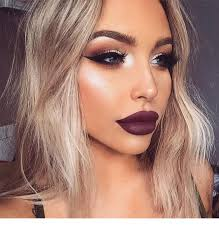 a nice userful makeup for blondes