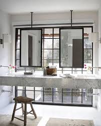 faucet position ceiling mount mirrors