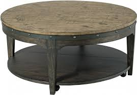 charcoal artisans round cocktail table