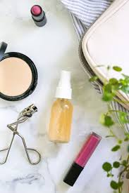 diy makeup setting spray for soft dewy